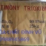 ANTIMONY TRIOXIDE - Sb2O3 - Trioxide antimony